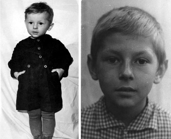 Майк Науменко в детстве