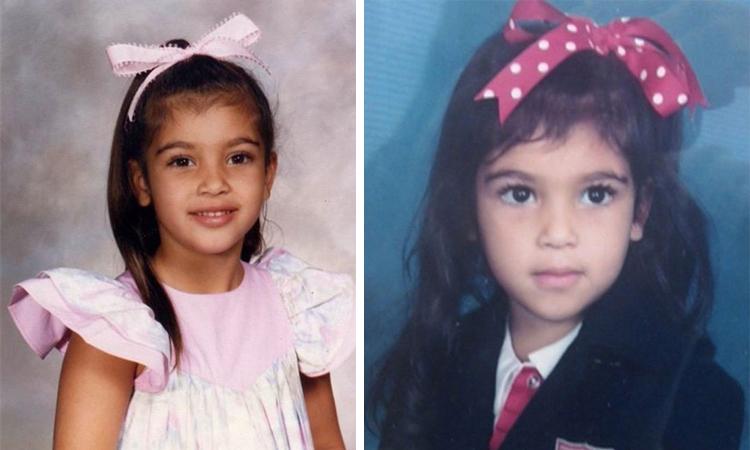 Ким Кардашян в детстве