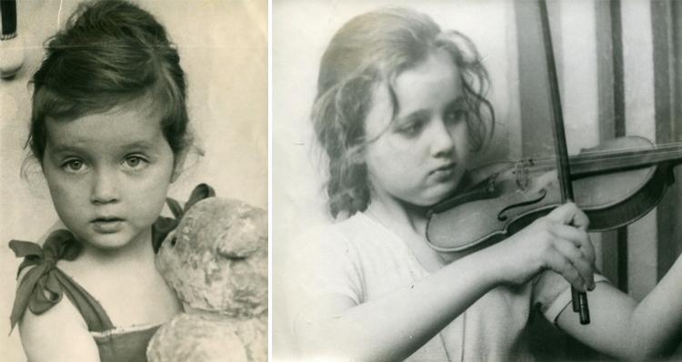 Светлана Аманова в детстве