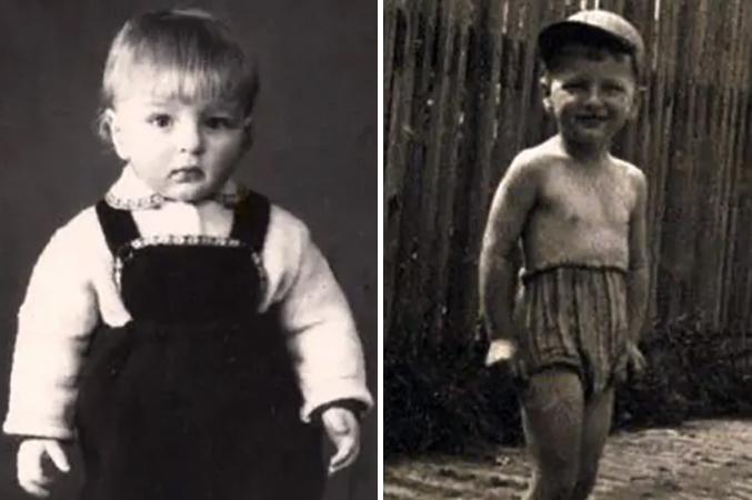 Сергей Колесников в детстве