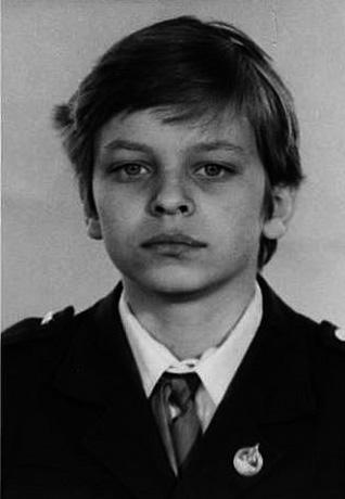 Анатолий Кот в детстве
