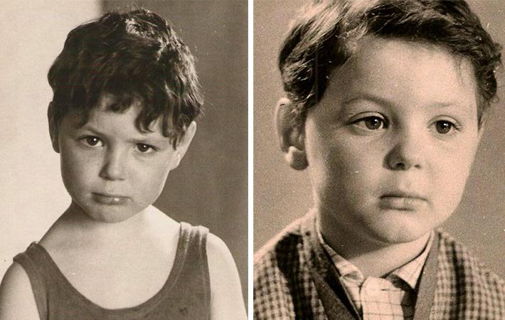 Максим Леонидов в детстве