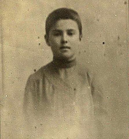 Сергей Лазо в детстве
