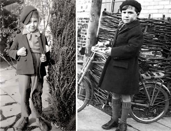 Сергей Капица в детстве