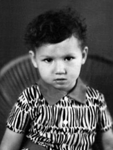Роман Бабаян в детстве