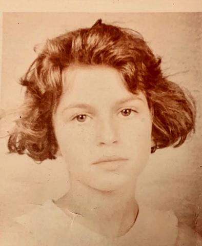 Дарья Жукова в детстве (1991 г.)
