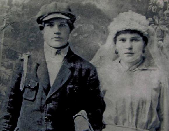С первым мужем Степаном