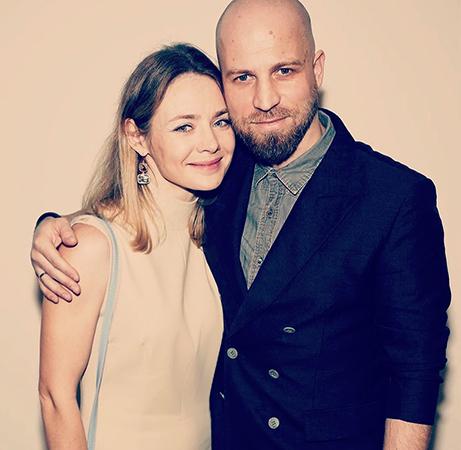 С мужем Егором