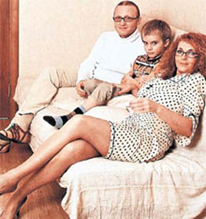 С Дмитрием Мишиным и сыном Домиником