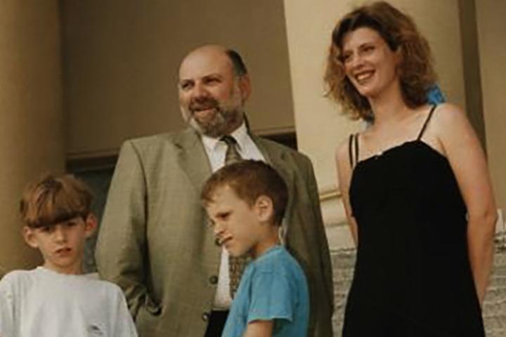 С Ириной Метлицкой и детьми