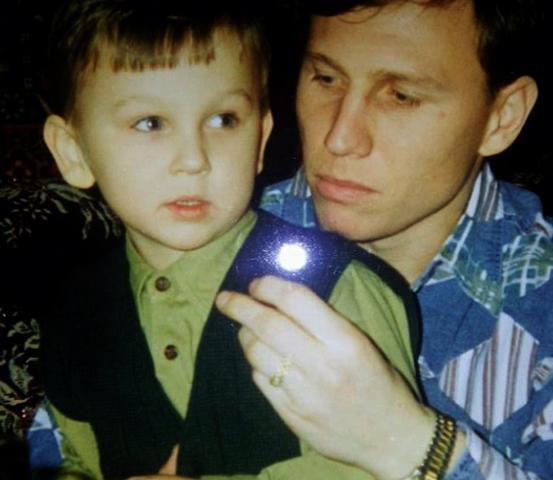 Денис Черышев с отцом