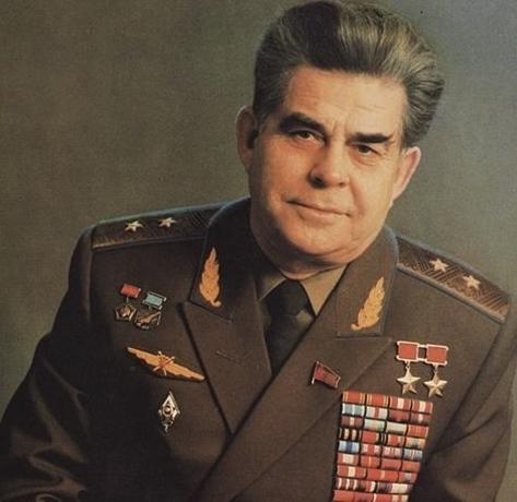 Георгий Береговой в старости