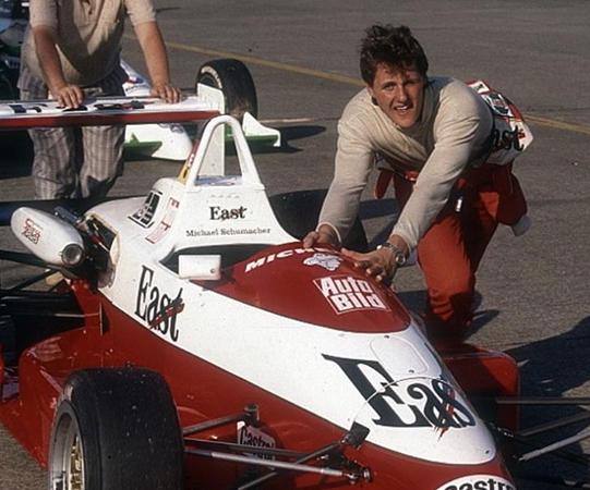 Михаэль Шумахер в начале гоночной карьеры