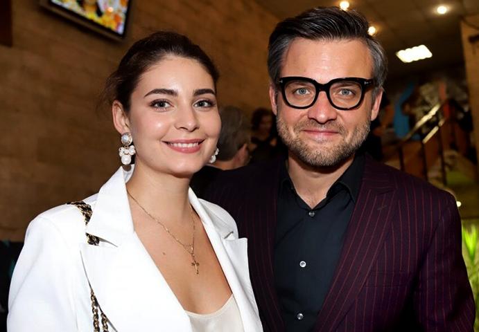 С мужем Иваном