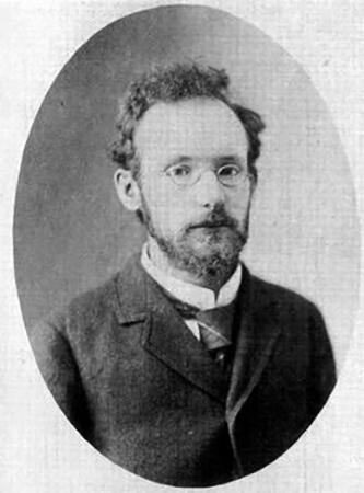 Вячеслав Иванов в молодости (около 25 лет)