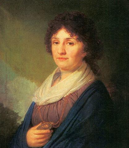 Мать — Екатерина Николаевна. Худ. В.Л. Боровиковский