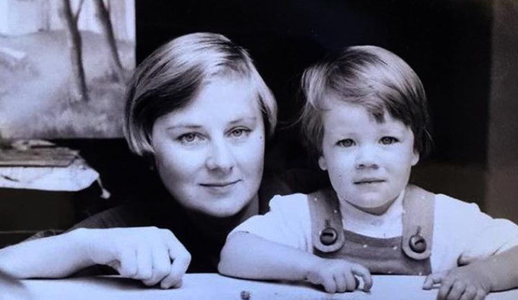 Надежда Гайдук с дочерью Елизаветой