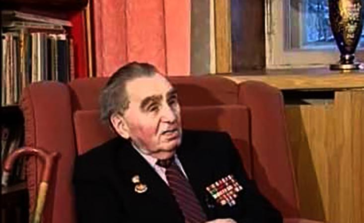 Павел Судоплатов в старости
