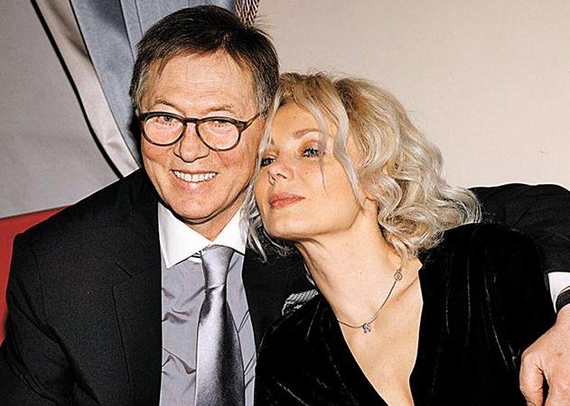С третьей женой Ольгой