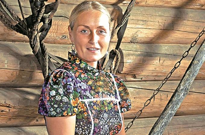 Актриса Ольга Шукшина