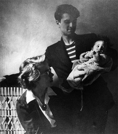 Роберт Де Ниро с родителями