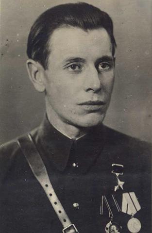 Петр Машеров в 1944 г.