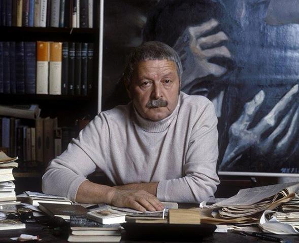 Поэт Юрий Левитанский