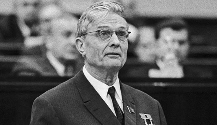 Политический деятель Михаил Андреевич Суслов