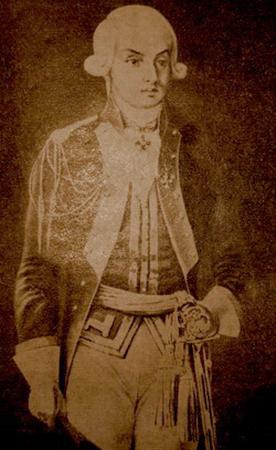 Николай Раевский в 1790-е гг.