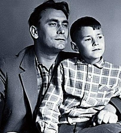 С сыном Александром