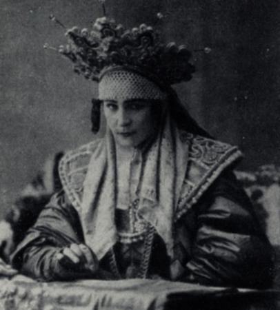 """В спектакле """"Царь Федор Иоанович"""" (1898)"""