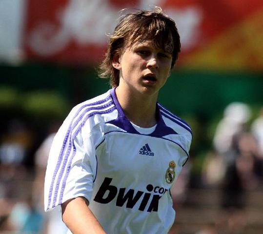 В начале футбольной карьеры