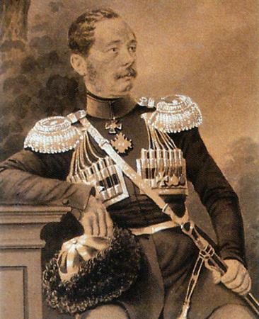 Н. Н. Муравьёв в начале 1850-х гг.