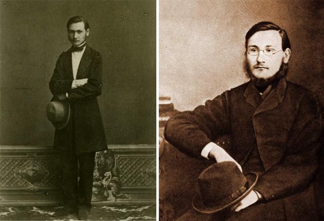 Илья Мечников в студенческие годы