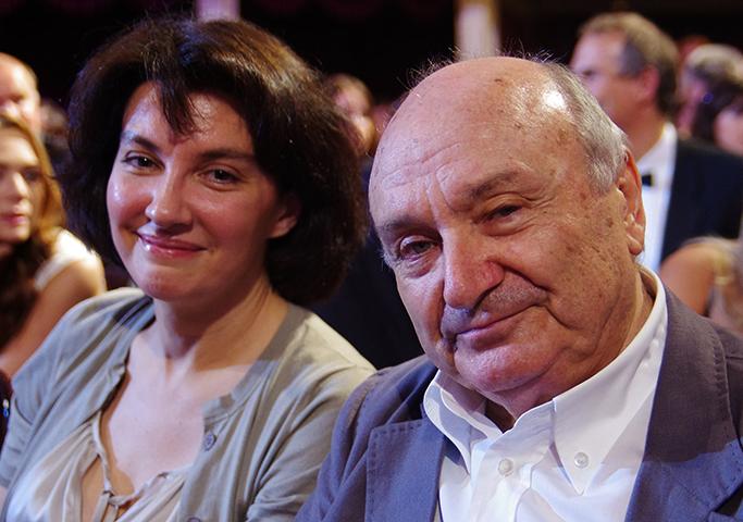 Михаил Жванецкий и Наталья Сурова