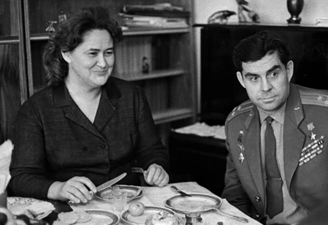 С женой Лидией Матвеевной
