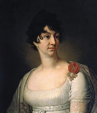 Жена – Софья Алексеевна. худ. В. Л. Боровиковский, 1813 г.