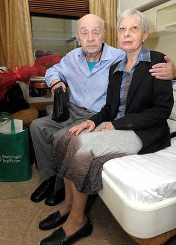 Со второй женой Викторией