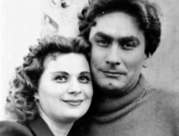 С женой Надеждой
