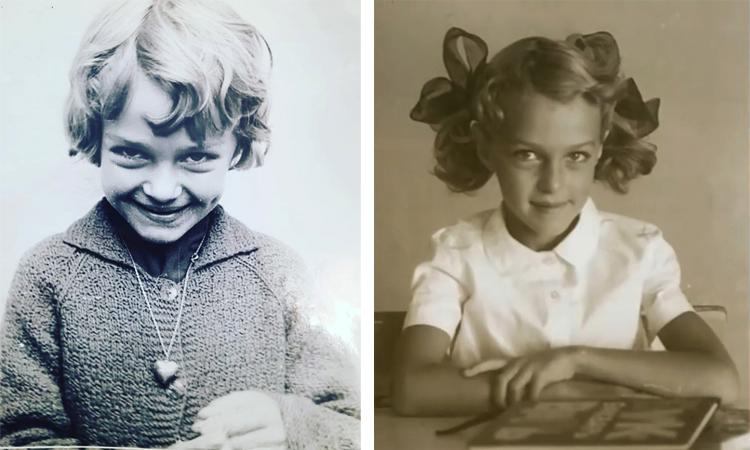Татьяна Лютаева в детстве