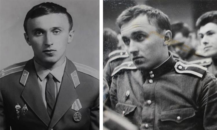 Павел Грачев в молодости