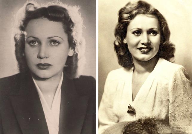 Лидия Смирнова в молодости