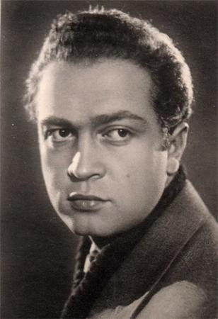 Владимир Сошальский в молодости