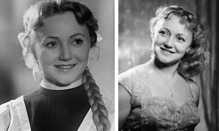 Людмила Касаткина в молодости