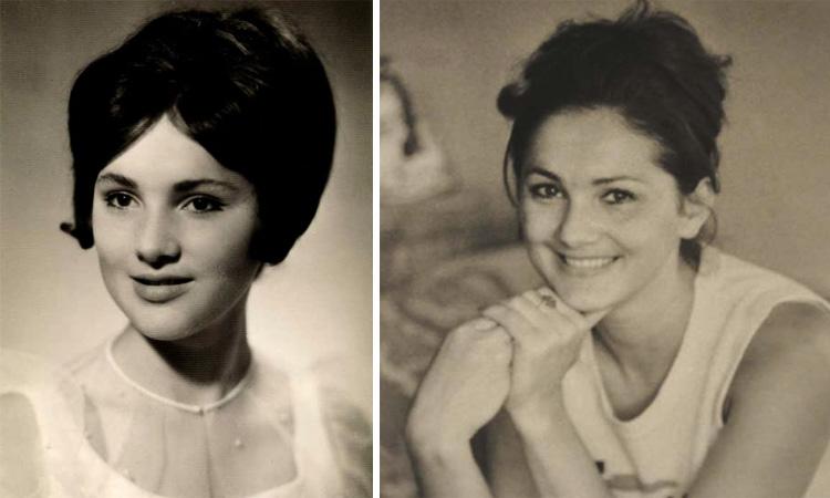Лилия Амарфий в молодости