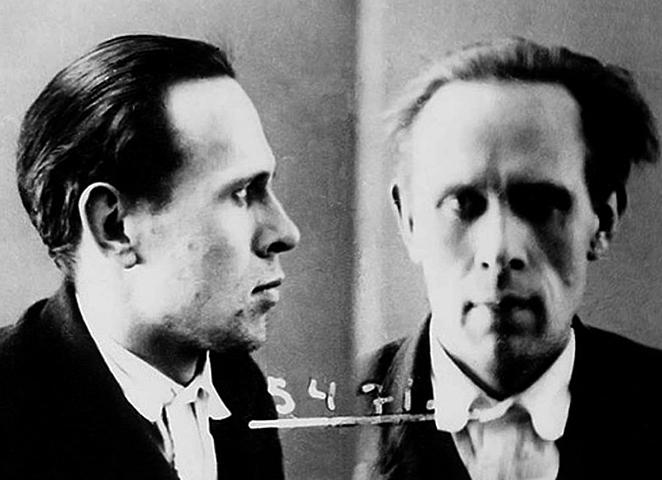 Даниил Хармс во время ареста (1931)