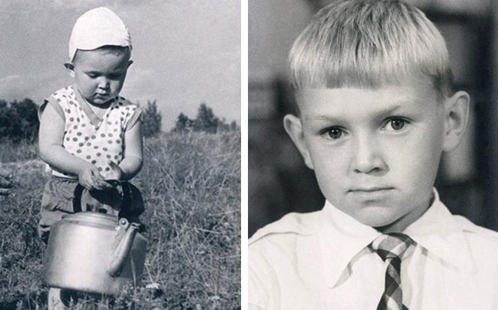 Михаил Горевой в детстве
