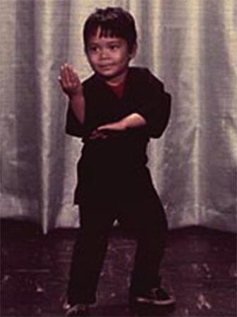 Марк Дакаскос в детстве