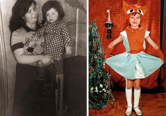 Юлия Такшина в детстве