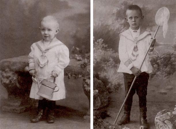 Даниил Хармс в детстве